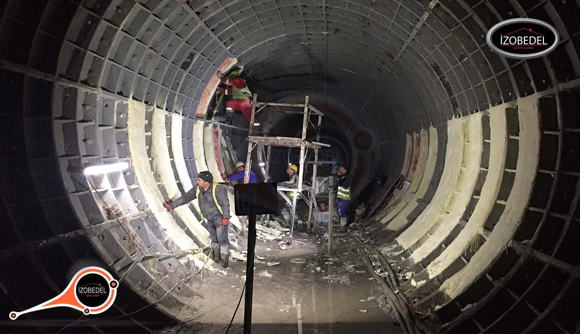 tünel su yalıtımı polyurea
