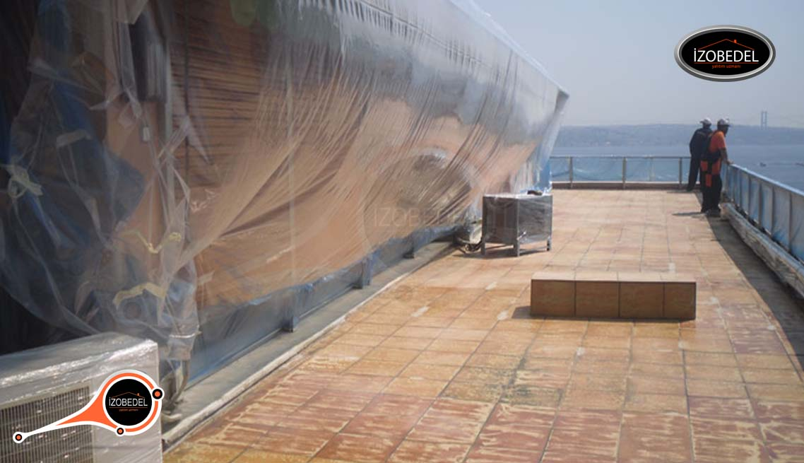 teras ısı ve su yalıtımı hazırlık
