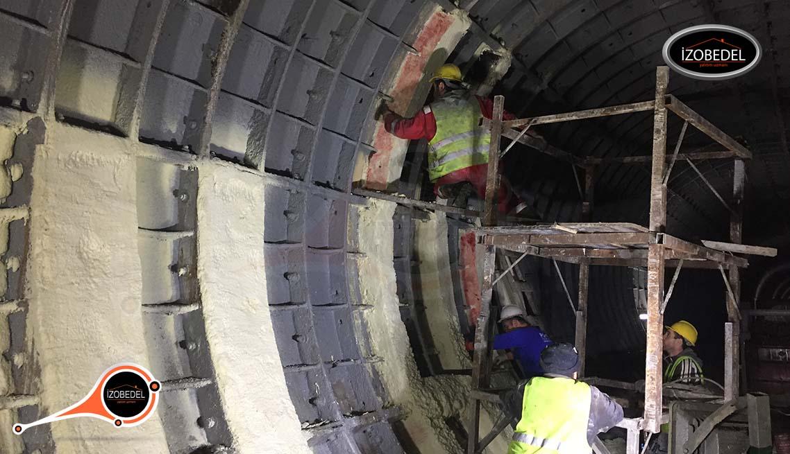 tunel su yalıtımı polyurea